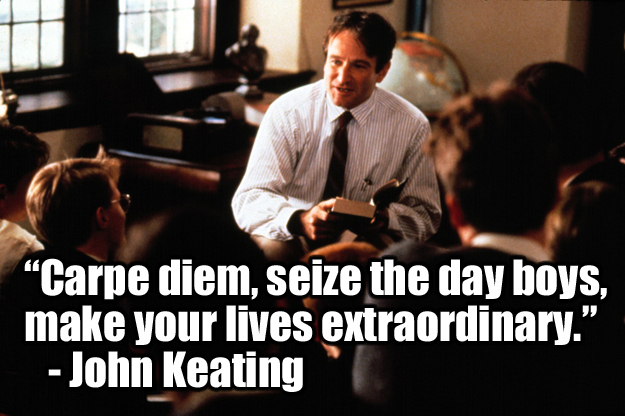 dead poets society significant experiences the It was in this way that i watched dead poet's society for the first time  but most  important of all, i saw it, having known people who  so i am very grateful to  have seen this movie after having the experiences that i have had.